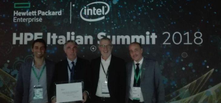 ADICOM GROUP PREMIATA AL HPE CHALLENGE AWARD 2018