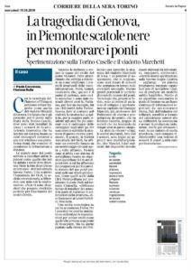 Con la tecnologia dell'Internet of Things si potranno evitare tragedie come quella del viadotto Morandi di Genova.
